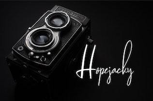 Thumbnail for Jagalana   Signature Typeface