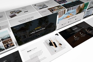 Thumbnail for Moxa Hotel Google Slides Presentation Template