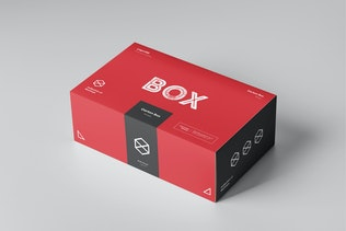 Thumbnail for Carton Box Mock-up 23x14x8 & Wrapper