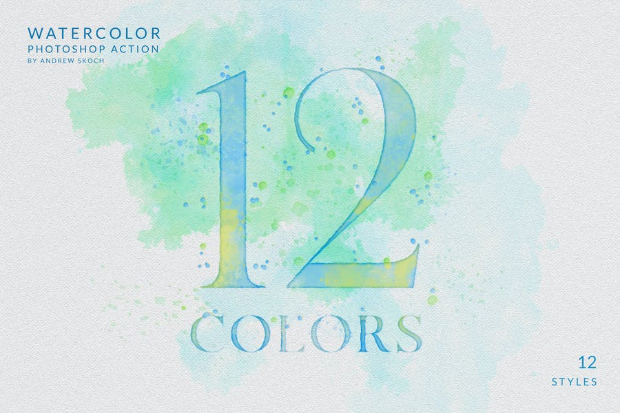 Watercolor Painting - Photoshop Action - product preview 3