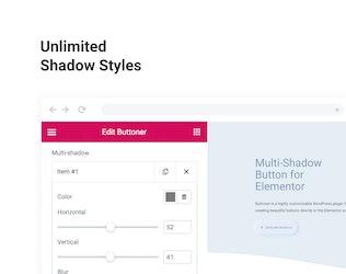 Thumbnail for Multi-shadow Button for WordPress