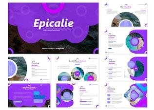 Thumbnail for Epicalie   Google Slides Template
