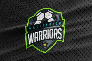 Thumbnail for Washington Warriors - Soccer Team Logo