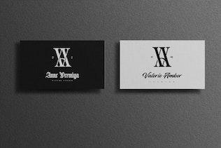 Thumbnail for AV/VA Monogram Logo