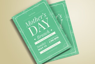 Thumbnail for Mothers Day Brunch Flyer 02