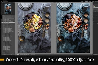 Thumbnail for FoodKit - Food Presets for Lightroom & ACR