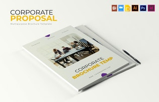Thumbnail for Corporate   Brochure Template