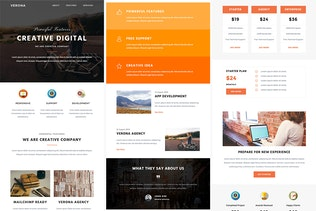 Thumbnail for Verona - Responsive Email + StampReady Builder