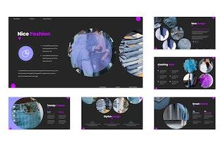 Fashionista - Google Slides Template