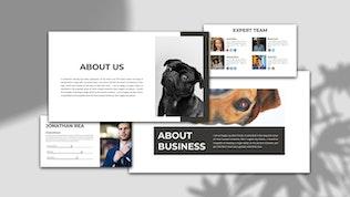 Миниатюра для XIANJING — Pet Shop PowerPoint Шаблон