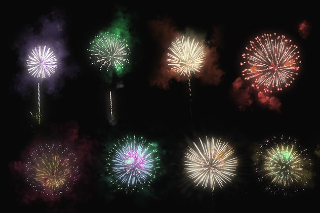 100 Firework Overlays - product preview 8