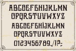 Thumbnail for Epique Typeface
