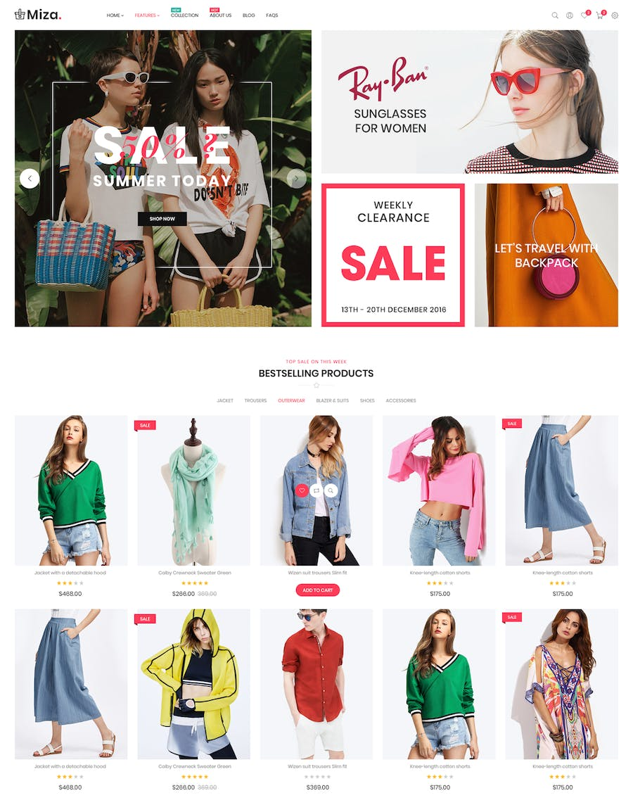 Miza - Fashion Bootstrap 4 Shopify Theme - product preview 4