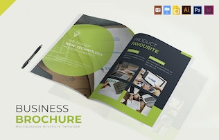 Thumbnail for Business | Brochure Template