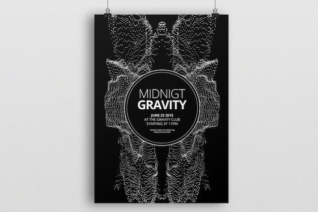 Midnight Gravity Flyer / Poster