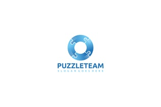Thumbnail for Colorful Puzzle Logo