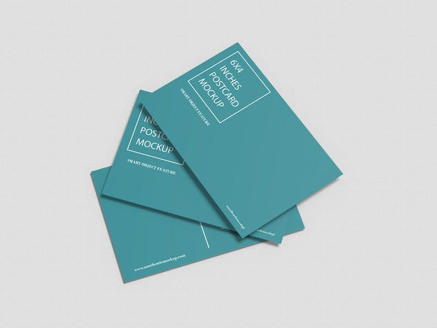Postcard Mockup - product preview 6