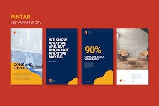 Миниатюра для Пинтар Instagram История - Google слайд