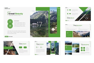 Thumbnail for Greenola - Powerpoint Template