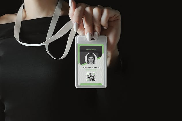 Identity Card Holder Mockup - product preview 2