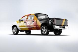 Thumbnail for Pickup Truck Mock-Up