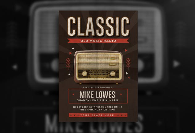 Classic Music Flyer - product preview 1
