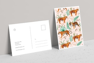 Thumbnail for Tropical & Tigers Art & Stationary Kit