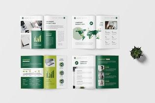Miniature pour Fazza - Modèle de profil d'entreprise