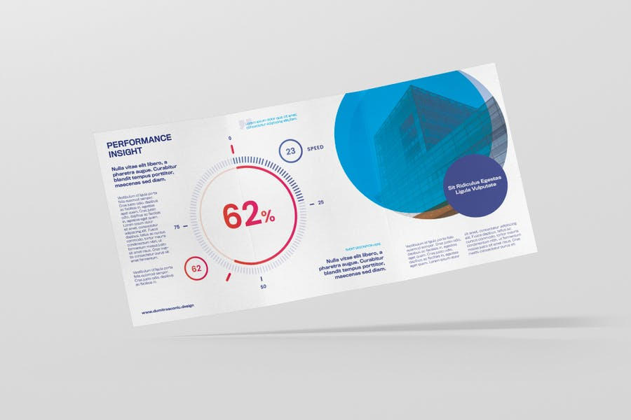 Corporate A5 Trifolder Flyer - product preview 2