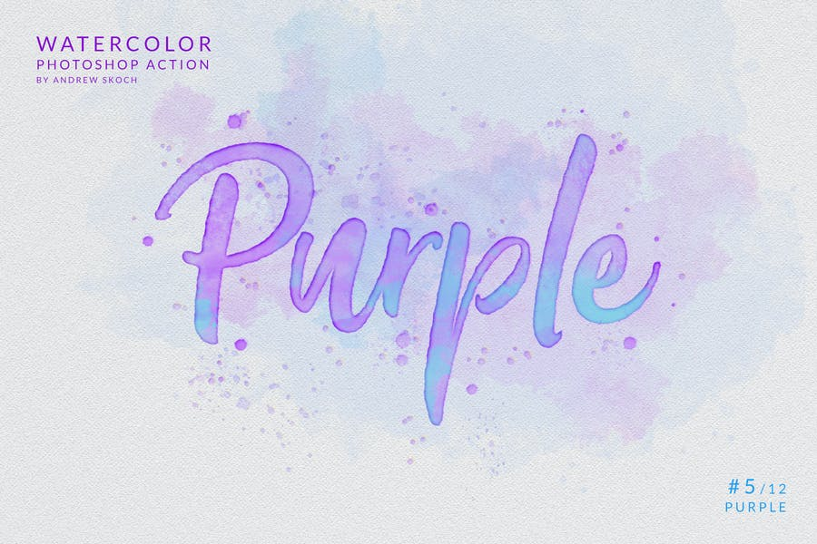 Watercolor Painting - Photoshop Action - product preview 8