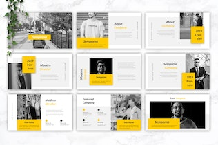 Thumbnail for SEMPORNA - Business Powerpoint Template