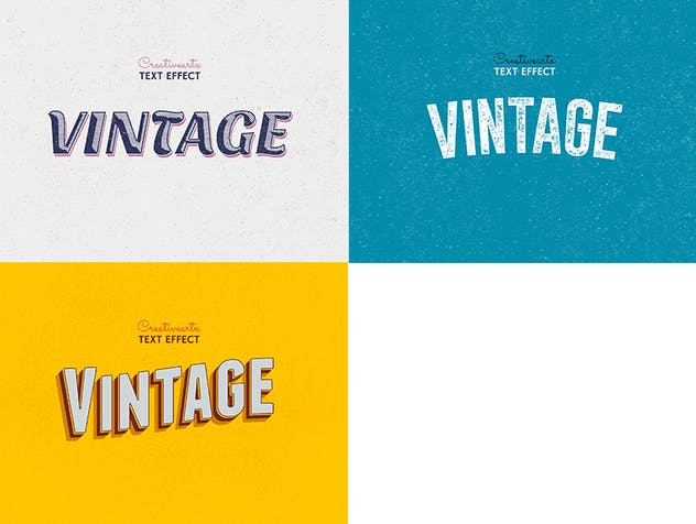 Vintage Retro Text Effects Col 8 - product preview 6