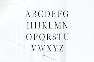 Thumbnail for Glamour Luxury Serif Font Family