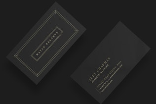 Thumbnail for Hotel & Resorts Business Card