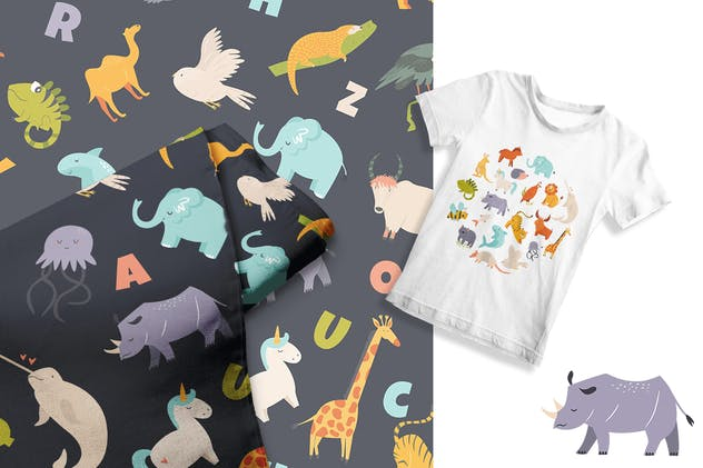 Alphabet Animals for Little Ones - product preview 3