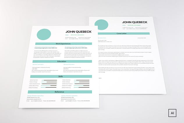 Resume CV - product preview 1
