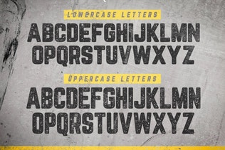 Thumbnail for Blocklyn Font Family + Mockups