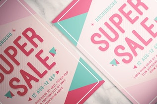 Thumbnail for Super Sale Flyer