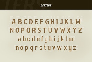 Thumbnail for Mourbout - NFC Font Family