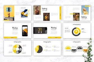 Thumbnail for VERONICA - Fashion Powerpoint Template