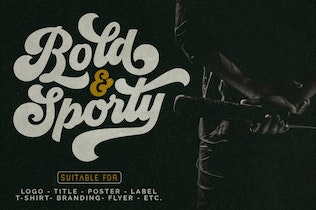 Thumbnail for Groovy - Retro Font