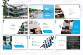 Thumbnail for DROME - Hotel Keynote Template