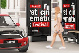Thumbnail for Outdoor Advertising Mockup