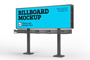 Thumbnail for Billboard Mockup Set