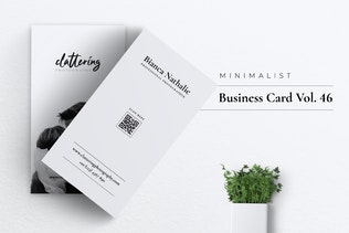 Thumbnail for Minimalist Business Card Vol.50