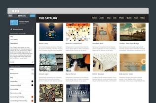 Thumbnail for Catalog Tumblr Theme