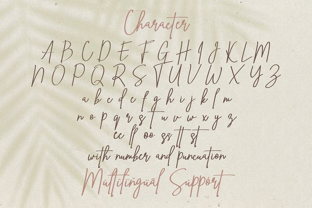 Ving Smith - Handwritten Font