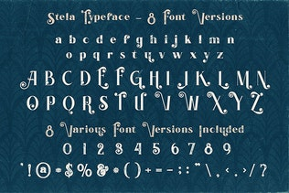Thumbnail for Stela - Display Font