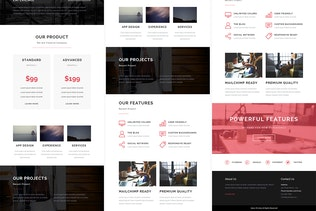 Thumbnail for Saturn - Responsive Email + StampReady Builder