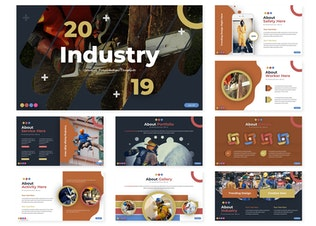 Thumbnail for Industry | Powerpoint Template